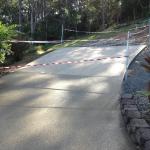 Driveway extension slab