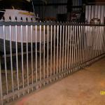 Custom made automatic security gates.