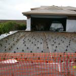 In Preparation for 200sqr m driveway/carport concrete pour.